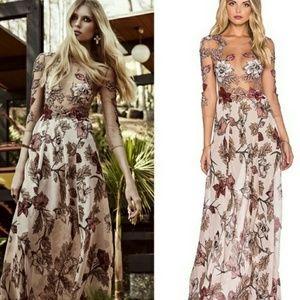 For Love and Lemons Sierra Maxi Dress